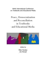 Texts of War/Texts of Peace: Dismantling Violence and ... - IARTEM