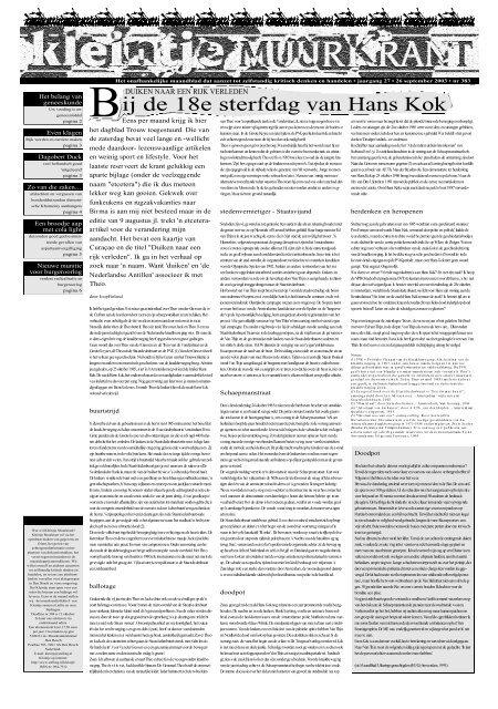 Ongebruikt Kleintje Muurkrant 383 - Stelling AV-35