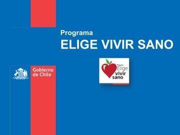 EVS Presentación Pauline Kantor en Seminario ... - Elige Vivir Sano