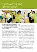 Fysisk aktivitet vid reumatisk sjukdom - NetdoktorPro - Page 3