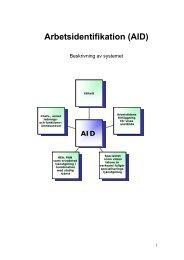 Beskrivning AID - Naturvetarna