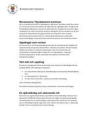 Rapportering - Nynäshamns kommun