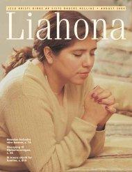 August 2004 Liahona