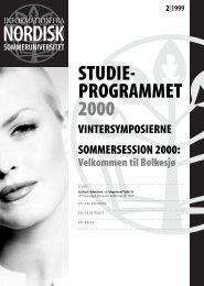 STUDIE- PROGRAMMET 2000 - ww.nsuweb.net