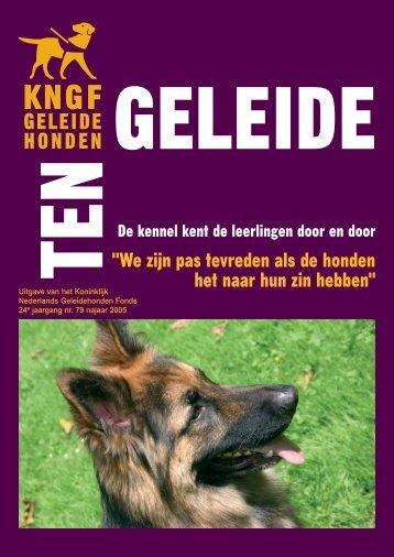 Ten Geleide najaar 2005 - KNGF Geleidehonden