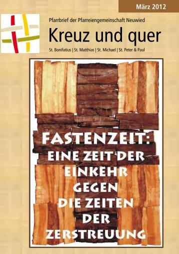 März 2012 - Pfarreiengemeinschaft Neuwied
