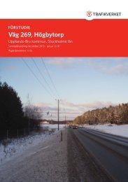 Förstudie väg 269, Högbytorp.indd - Upplands-Bro