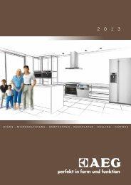 Download de Projectbrochure 2013 - Electrolux Projects