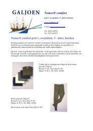 Nomex® comfort - Galjoen