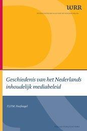 Geschiedenis van het Nederlands inhoudelijk mediabeleid - Oapen