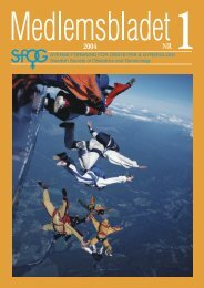Medlemsblad 1 2004 - SFOG