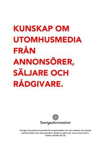 Handbok för utomhusreklam 2012-09 - Sveriges Annonsörer