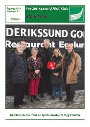 Frederikssund Golfklub Klubbladet