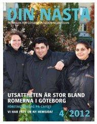 Din Nästa 2012 nr 4 - Göteborgs Räddningsmission