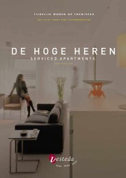 'De Hoge Heren Serviced Apartments Rotterdam' (501.43 ... - Vesteda