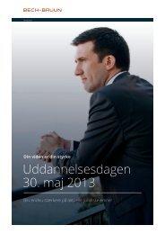 Uddannelsesdagen 30. maj 2013 - Bech-Bruun