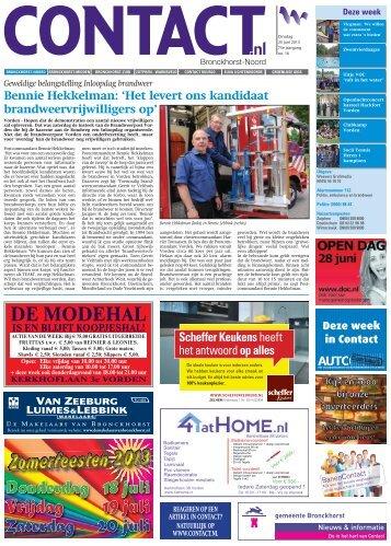 Tablet versie - Contact.nl