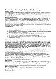 Referat fra Generalforsamling, den 3. februar 2001 i ... - BB10m