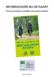 infobrochure bij de kaart - Natuurpunt en Partners Meetjesland (NPM)