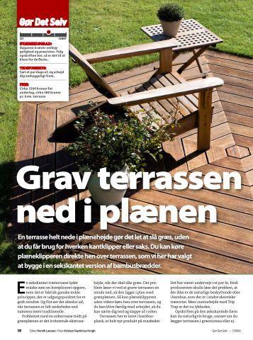 Terrassen magazines