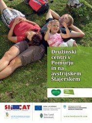 Katalog Družinski centri v Pomurju in na avstrijskem Štajerskem