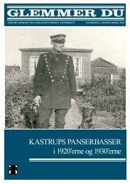 KASTRUPS PANSERBASSER i 1920'erne og 1930'erne