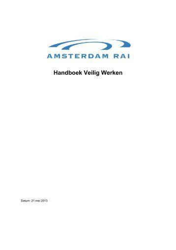 Bijlage 4: Handboek Veilig Werken - Rai