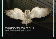Kerkuilbroedgegevens 2011 - VWG De Kempen