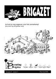 Maart / April 2006 Jaargang 15 nummer 2 - Scouting Brigitta