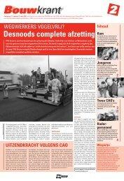 Desnoods complete afzetting - Afdeling