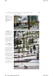 Grønne byrum - eksempel fra København - Herning Vand A/S