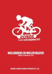 Download hier de flyer - Ronde van katendrecht
