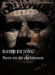 David de Jong (pdf) - Jonge Historici Schrijven Geschiedenis