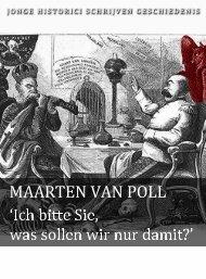 Maarten van Poll (pdf) - Jonge Historici Schrijven Geschiedenis