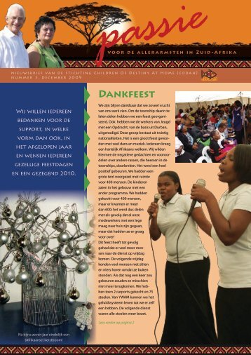 DANkFEEsT - passion for south africa