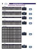 Nachfüllbare Sensoren - Saint Gobain Autover - Page 7