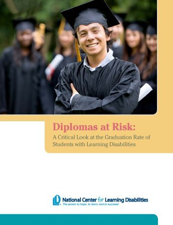 Diplomas at Risk - National Center for Learning Disabilities