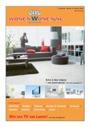 Win een TV van Loewe! Lees meer op pagina 19 - WonenWonen.nl