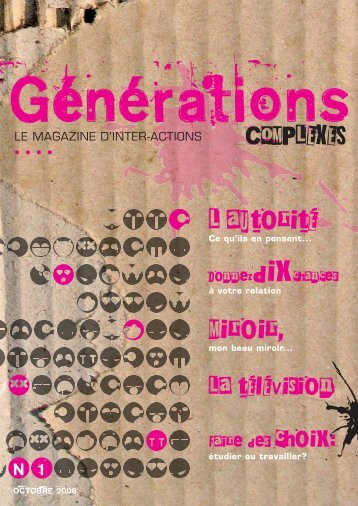 N°1 - Inter-Actions