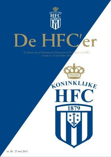 nr. 30. 27 mei 2013 - Koninklijke HFC