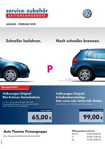 65,00€ 99,00€ - bei Auto Thomas