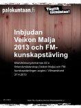 Kutsu Veikon Malja 2013 ja SM- tietokilpailu - Palokuntaan.fi - Page 4