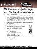 Kutsu Veikon Malja 2013 ja SM- tietokilpailu - Palokuntaan.fi - Page 5