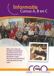 Informatiebrochure A-en B-cursus 2013-2014 - Cgo.nu