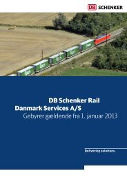 PDF download - DB Schenker Rail Danmark Services A/S