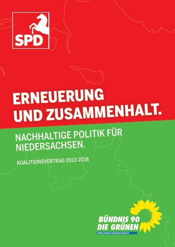 Koalitionsvertrag - Bündnis 90/Die Grünen Landesverband ...