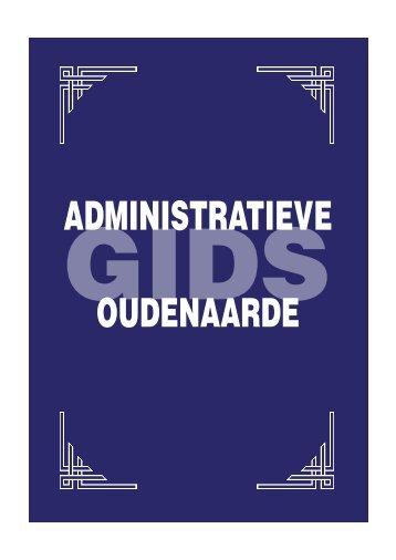 administratieve gids - Stad Oudenaarde