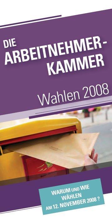 ARBEITNEHMER- KAMMER
