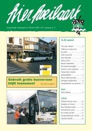 Hier Hoeilaart februari 2006 - Website Gemeente Hoeilaart