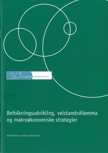 Sammenfatning af teknisk analyserapport - Finansministeriet